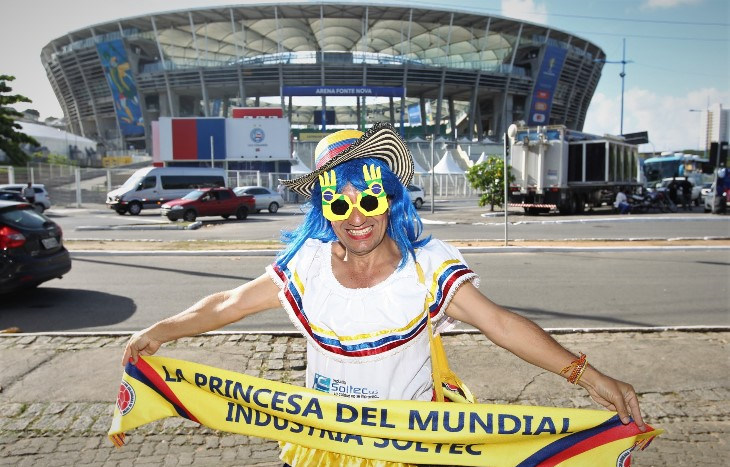Copa Americana torcida em Salvador