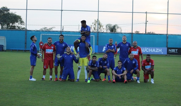 Bahia está pronto para enfrentar o Internacional no estádio Beira-Rio