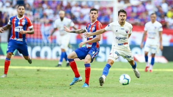 Bahia X Fortaleza Jogo Pela 18ª Rodada Da Serie A E Adiado Pela Cbf