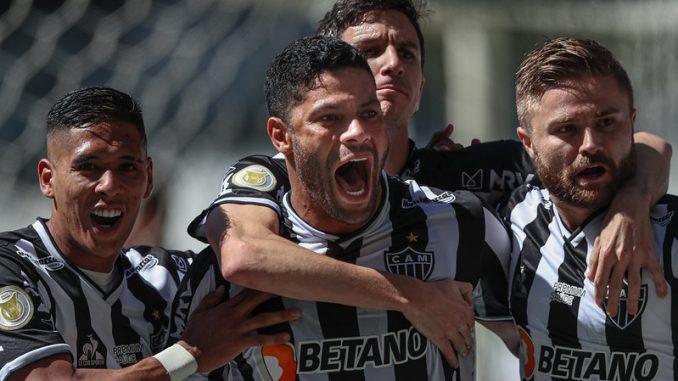 Quatro das seis vitórias consecutivas do Atlético-MG na Série A ocorreram após retorno do time do vestiário, como aconteceu contra o Bahia