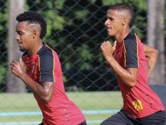 Laterais Ewerthon e Luciano Juba retornaram de empréstimo nesta semana e estão à disposição do técnico Umberto Louzer, do Sport