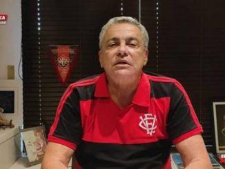 Presidente do Conselho, do Vitória, confirma ato de protocolação da denúncia em sua rede social na manhã do último domingo (8)