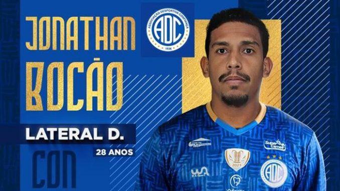 Com passagem pelo Rubro-Negro, Jonathan Bocão desembarca em Aracaju (SE) para vestir a camisa do Dragão do Bairro Industrial pela Série B